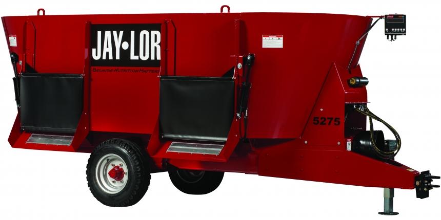 Introducing A Mini-Mixer That Can Process 4'x5' Bales : The Jaylor